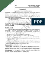 TD TECHNIQUE FISCALE LES DEFICITS FISCAUX