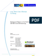 Better Use of Biomass for Energy - Background Report
