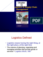 MARKET LOGISTICS AND SUPPLY CHAIN MGT