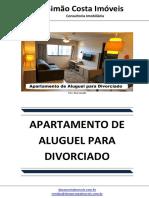 Apartamento de Aluguel Para Divorciado