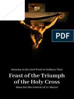 FEAST OF THE TRIUMPH OF THE CROSS