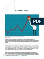 How Does Forex Markets Work