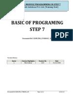 Step7 Basic Programming