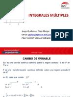 INTEGRALES MÚLTIPLES  CVV 2019 - II