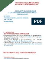 COURS DE GEOMORPHOLOGIE.pptx