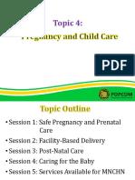 Topic 4 - Pregnancy and Child Care _Sessions 1-5 (Mr. Moises Villacorta)