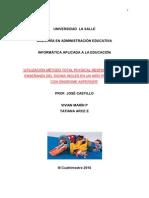 Proyecto Final  VIVIAN-TATIANA Utilización Método TPR para la enseñanza del idioma inglés