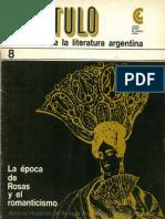 La Historia de la Literatura Argentina - Capítulo 8