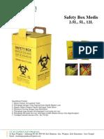 Brosur Safety Box 5Lt