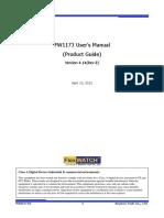 FW1173 Users Manual