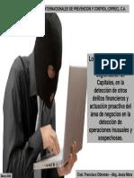 Logros de la PCLC para la detección de otros delitos financieros 25-03-08