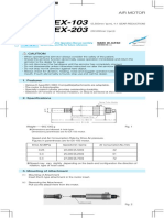 manual micromotor nsk EX-203