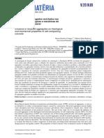 Influência dos agregados reciclados nas propriedades reológicas e mecânicas do concreto autoadensável