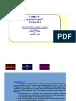 ScaleSoftPitzer v.13.0