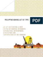 Philippine mining act of 1995_Part1