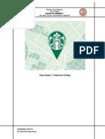 Case Study 1 (Starbucks Coffee)