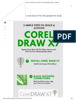 How to Crack & Activate Corel Draw X7 for life (Updated for 2018) - NairaTips.pdf