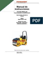 Rodillo Bermero DYNAPAC Motor DEUTZ icc102-2es