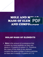 Mole and Molar Mass of Elements and Compounds_report.pptx