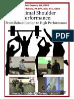 Optimal Shoulder Performance - Cressey Reinold