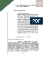 Casación N° 1640-2019/Nacional