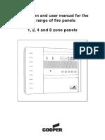 FIREDEX2204 zone Manual