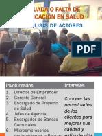 ANALIIS DE INVOLUCRADOS