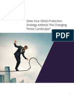 Does Your DDoS Protection Strategy Address The Changing Threat Landscape