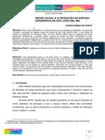 HABITAÇÃO DE INTERESSE SOCIAL E A PRODUÇÃO DO ESPAÇO URBANO A EXPERIÊNCIA DE SÃO JOÃO DEL REI