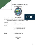 PROYECTO ANADARA TUBERCULOSA CONSCHAS NEGRAS IE 014 MG 2019
