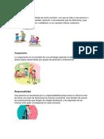 10 Valores, 7 Derechos de los niños, habitos de higiene personal