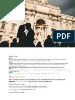8 марта  в Риме 2020