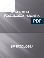 Noções de Embriologia