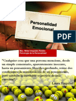 personalidad emocional