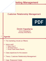 Marketing Strategy_Customer Relationship Management