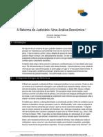 CASTELAR A reforma do judiciário - uma análise econômica.