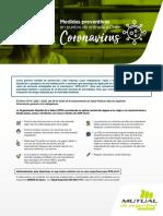 Medidas Preventivas - Coronavirus