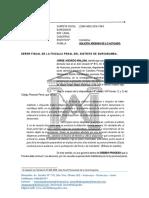 SOLICITO ARCHIVAMIENTO DEL CASO