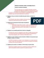 CUESTIONARIO DE DERECHO PORCESAL PENAL GUATEMALTECO II