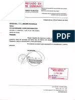 OFICIO Nro. 3038-2020-MP-FN-PJFS-LN 6 de febrero de 2020 - Carpeta Fiscal N° 86-2012 Caso Collique (segunda denuncia anticorrupción)