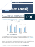 January 2020 Direct Lending Snapshot