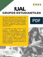 Manual de grupos estudiantiles