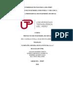 ANALISIS - F.O.D.A. buenaventura MERCADO
