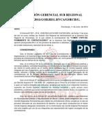 RESOLUCIÓN N°0161-2014  RECOMPOSICION DEL COMITE DE ENTREGA DE OBRA