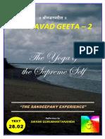 BG 02 Geeta - Sankhya Yoga