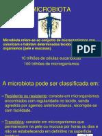 MICROBIOTA DO CORPO HUMANO ODONTO 2019