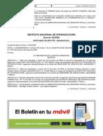 Oficializan la designación de Martín Hinojosa como presidente del INV