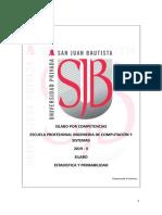 Silabo_ Estadistica y Probabilidad capacitación