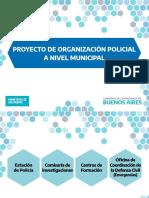 Proyecto de fusión y reentrenamiento de las fuerzas de seguridad PBA