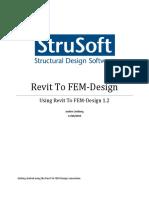 Using Revit to FEM-Design 1.2